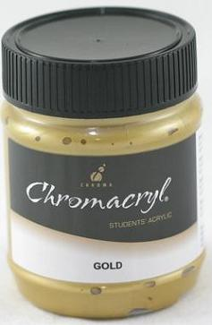 Chromacryl 250ml Gold