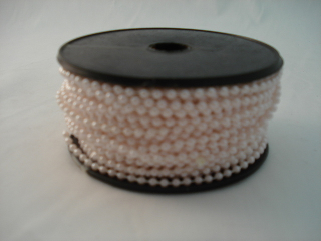 Fused Pearls 3mm x 30 metre Pink
