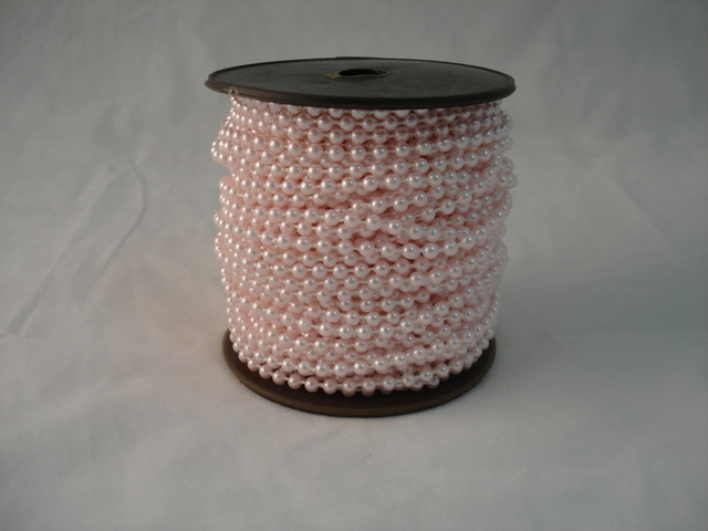 Fused Pearls 4mm x 30 metre Pink
