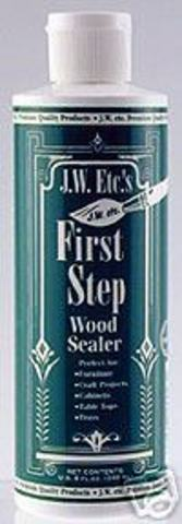 8 oz J.W. etc's First Step Wood Seal