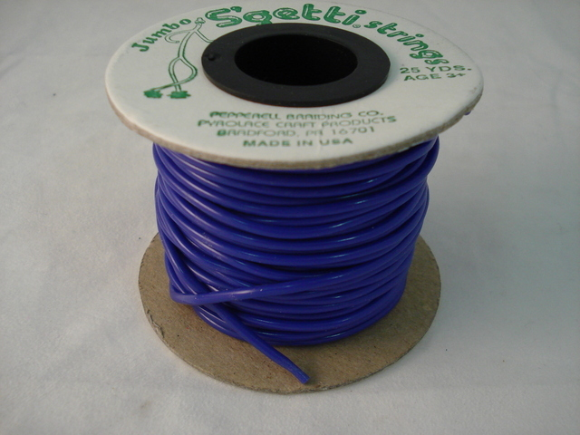 Jumbo S'Getti 3mm x 25 yards, Royal