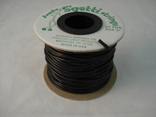 Jumbo S'Getti 3mm x 25 yards, Black