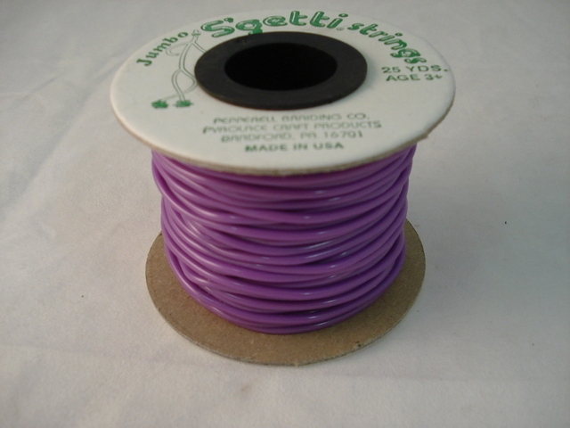 Jumbo S'Getti 3mm x 25 yards, Neon Purple