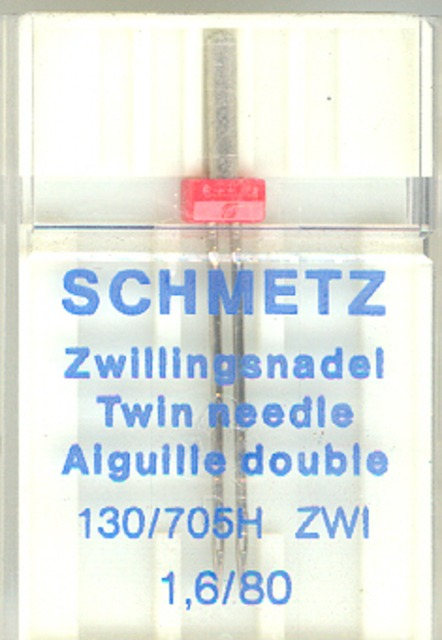 Schmetz Machine Twin Needle 705H 1.6/80