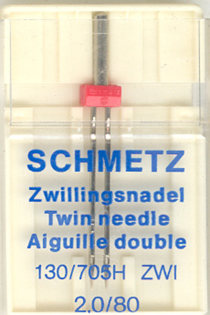 Schmetz Machine Twin Needle 705H 2.0/80