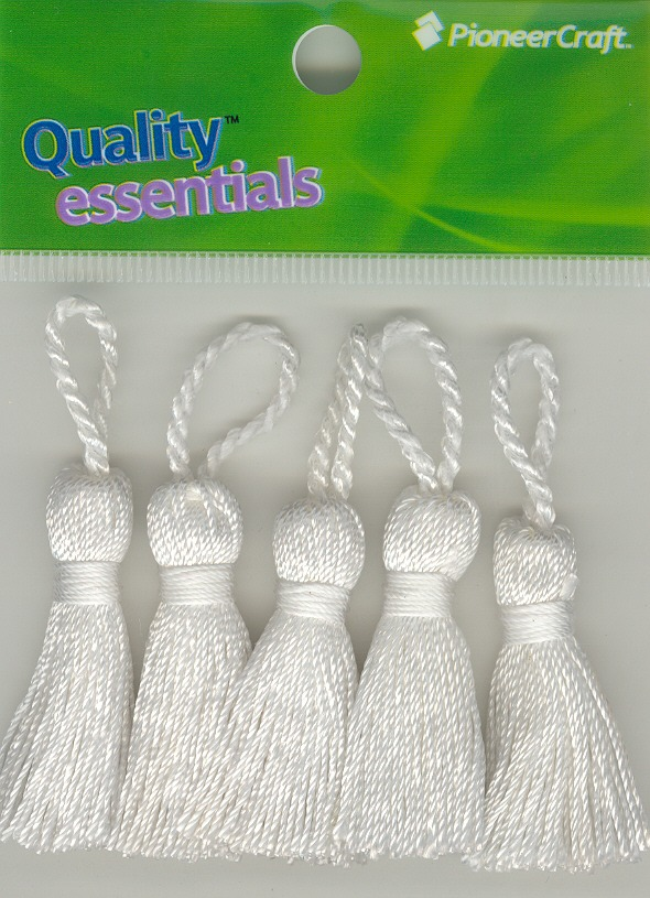 Tassels 35mm 01 White