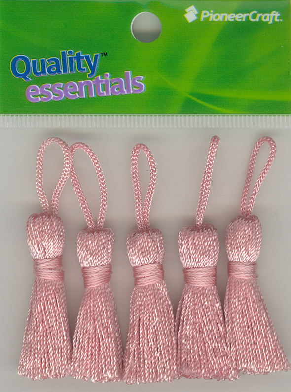 Tassels 35mm Colour 23 Pink x 5