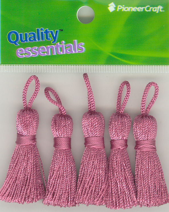 Tassels 35mm 28 Strawberry