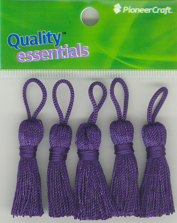 Tassels 35mm 39 Purple