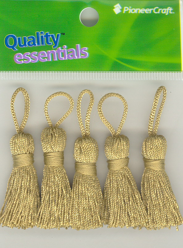 Tassels 35mm 51 Satinwood