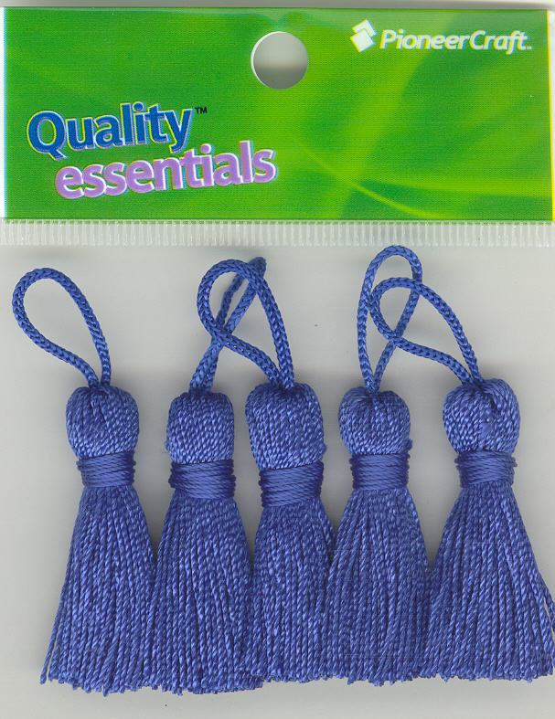 Tassels 35mm 75 Royal Pack x5