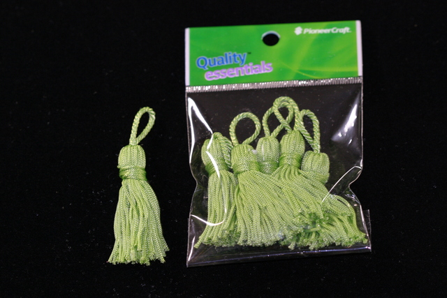 Tassels 50mm 62 Citrus