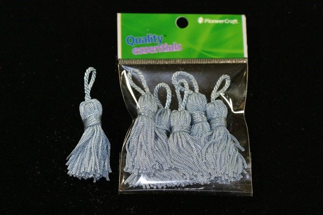 Tassels 50mm 72 Blue