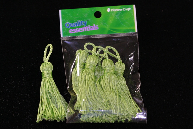Tassels 65mm 62 Citrus
