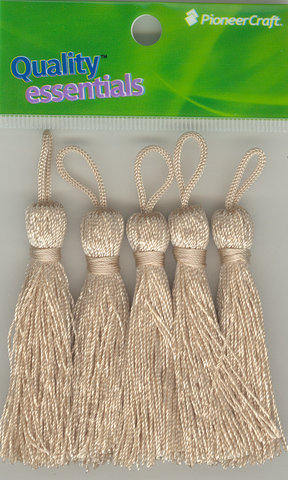 Tassels 70mm 06 Straw