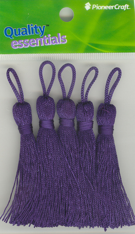 Tassels 70mm 39 Purple