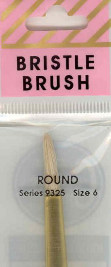 Crafters Choice White Bristle Round 6
