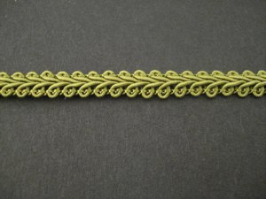 Gimp Braid Mist Green, price per mt
