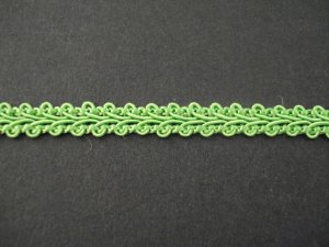 Gimp Braid Leaf Green, price per mt