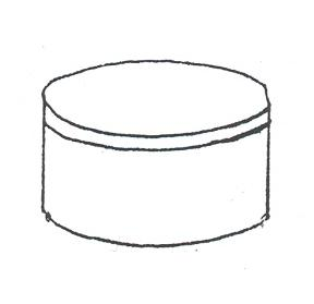 Medium Round Band Box