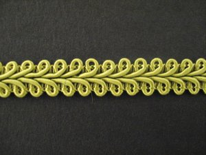 Gimp Braid per mtr; Light Olive, price per mtr