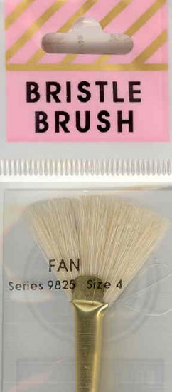Crafters Choice White Bristle Fan 4
