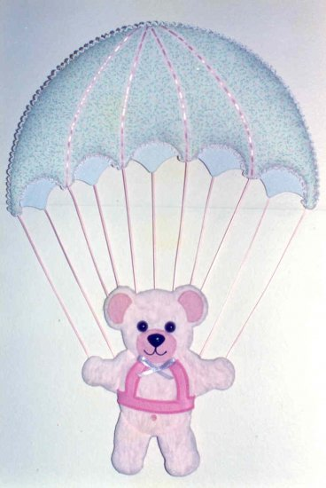 Bear with Parachute each