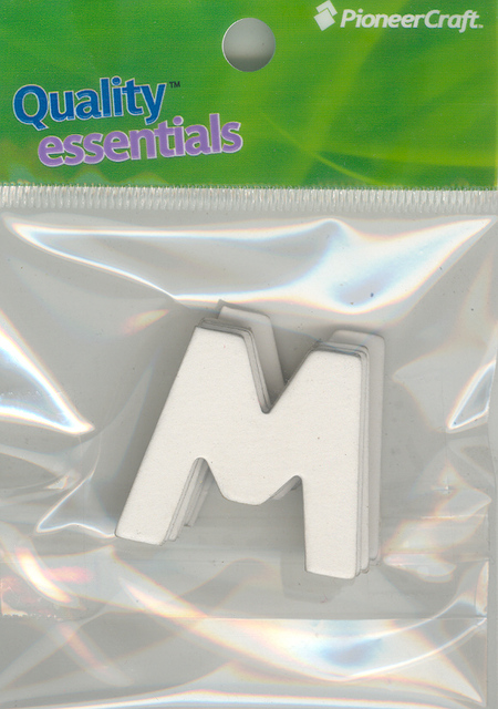 Set Small Alphabet (M)10 piece