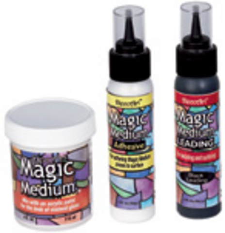 DecoArt Magic Medium Adhesive 2oz