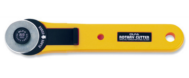 Small Olfa Rotary Cutter - Click Image to Close