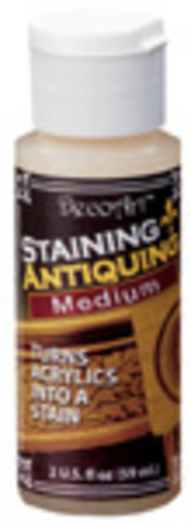 DecoArt Staining/Antiquing Medium 2oz