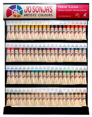 Jo Sonja Display Rack 400 x 75ml Tubes