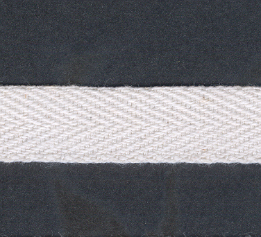 Webbing 20mm Cotton White x 50m, per mtr